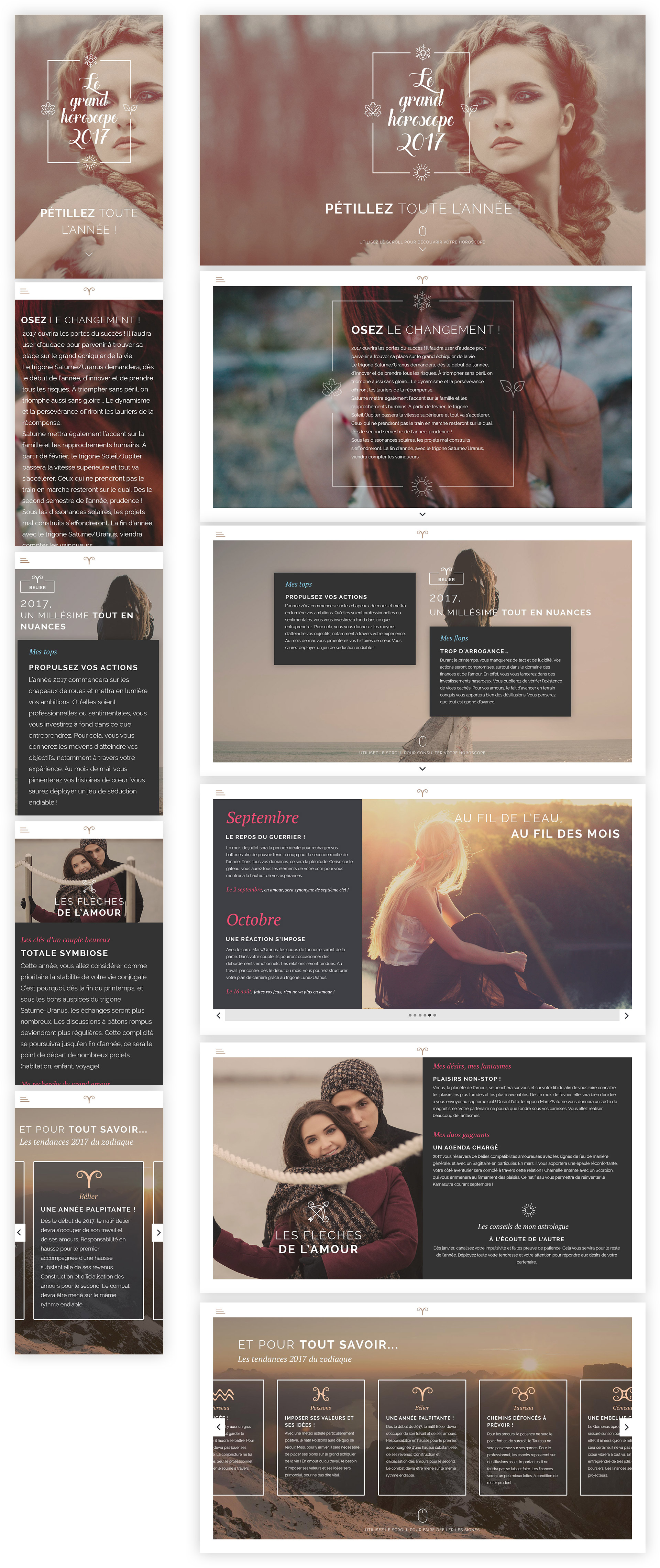 application web responsive floh-design